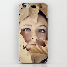 Welcome autumn iPhone & iPod Skin