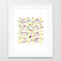 scales Framed Art Prints featuring Scales by Rachel Clore