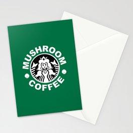 Super Mario's Mushroom Coffee Stationery Cards