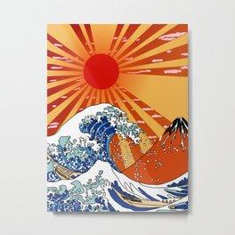 sun waves Metal Print