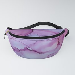 Alcohol Ink - Blue Moon Fanny Pack