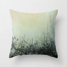 Dark Morning Throw Pillow