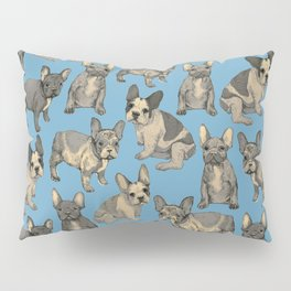 french bulldogs Pillow Sham