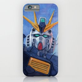 Nu Gundam 2 iPhone Case