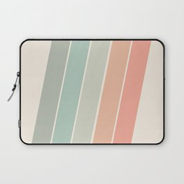 Trippin' - retro 70s socal minimal striped abstract art california surfing vintage Laptop Sleeve