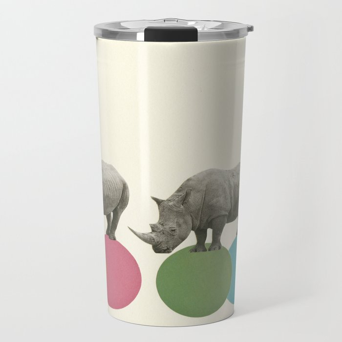 Rambling Rhinos Travel Mug