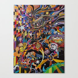 The Coming of the Sun Canvas Print