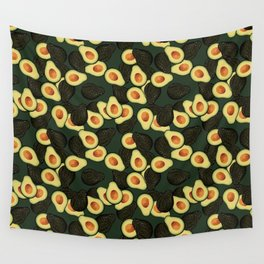 Avocado Pattern Wall Tapestry
