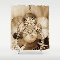 paris Shower Curtains featuring Paris by Rose Etiennette