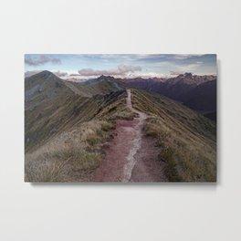 Kepler Track, Fiordland Metal Print