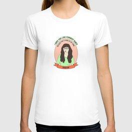 Jessica Day / New Girl Print T-shirt