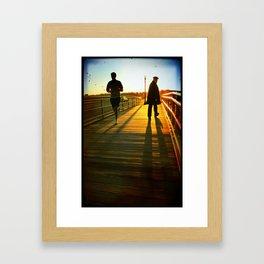 Old Man Intuition Framed Art Print