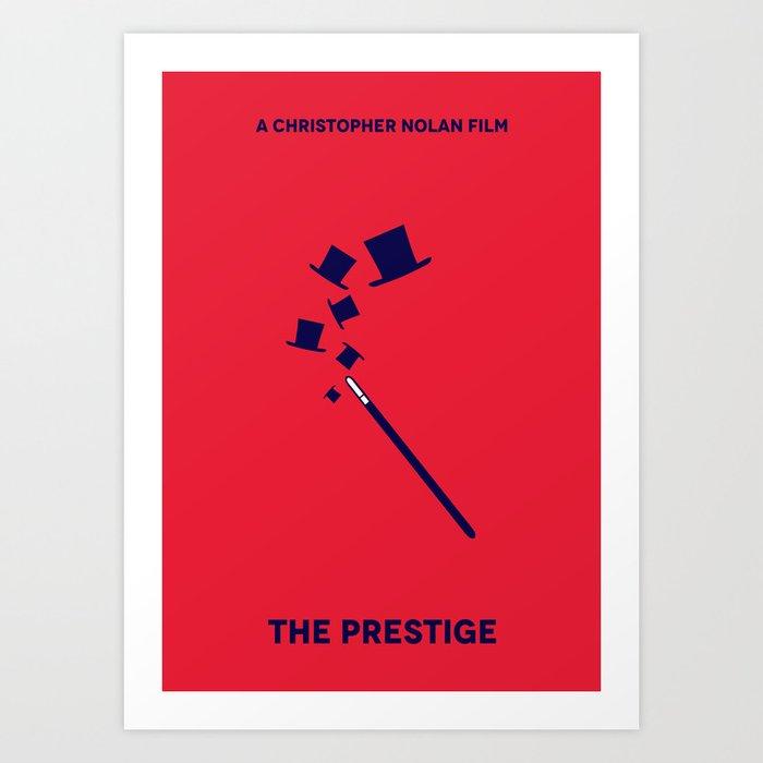 The Prestige Minimalist Poster - Wand Art Print