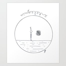 Just a simple thing Art Print