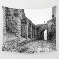 spain Wall Tapestries featuring Castellar, Spain by Simon Ede Photography