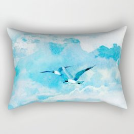 Flying birds Rectangular Pillow