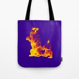 Ours Republique purple Tote Bag