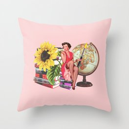 Super Smarty Pants Throw Pillow