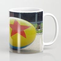 toy story Mugs featuring Toy Story Ball by Jillian