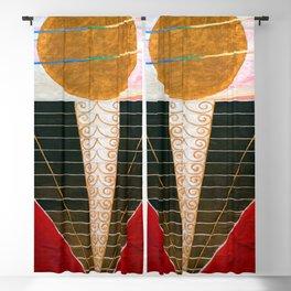 Hilma af Klint Atlarpiece II Blackout Curtain