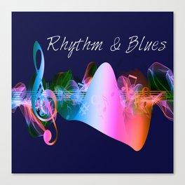 Rhythm & Blues Canvas Print