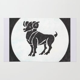 Aries - Zodiac sign Rug