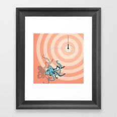 Singing Octopus Framed Art Print