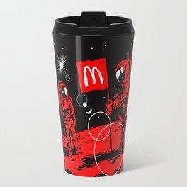 First we take Manhattan, Then we take Mars Travel Mug