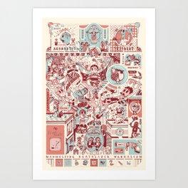 Cirque du Sick  Art Print