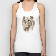 A Lion :: Without Pride Unisex Tank Top