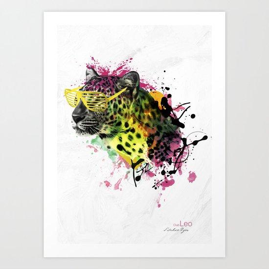 Club Leo Art Print