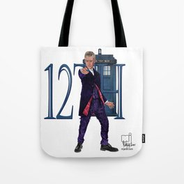 12th Doctor Tote Bag