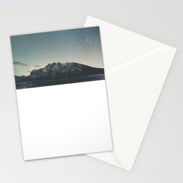 Stars over Minnewanka  Stationery Cards