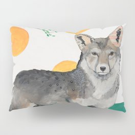 Coyote and Magpie Pillow Sham
