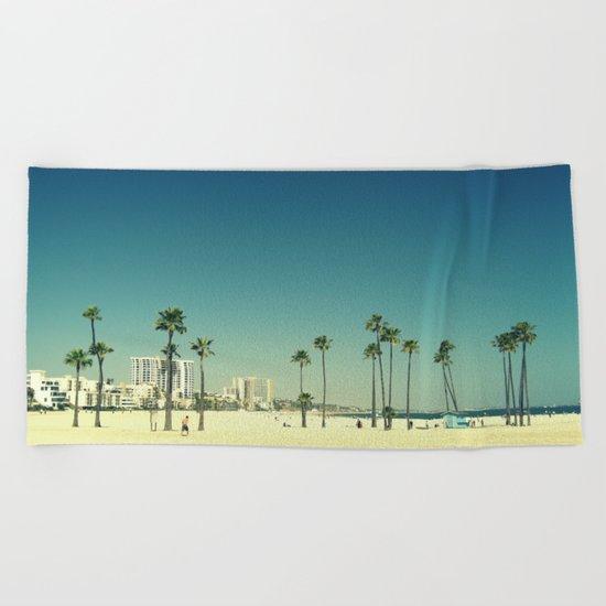 Summer Beach Blue Beach Towel