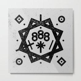 888 Metal Print
