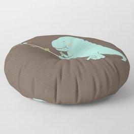 Selfie T-Rex Floor Pillow