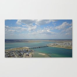 Bridge To Hampton Canvas Print