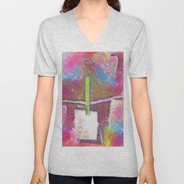 Title Shop Art Pop Art Unisex V-Neck