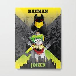 Bat Mark Metal Print