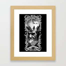 Ode to The West Wind Framed Art Print