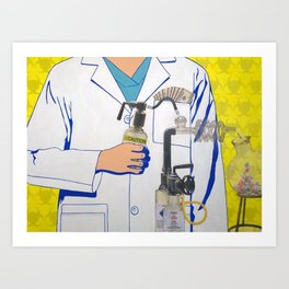 The Science of Capitalism Art Print