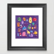 I Love Sweeties Framed Art Print