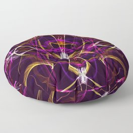 Sands of Time Contrast Floor Pillow