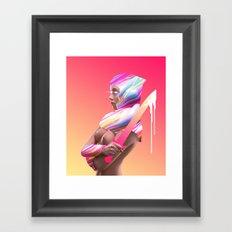 Acid Ranger Framed Art Print