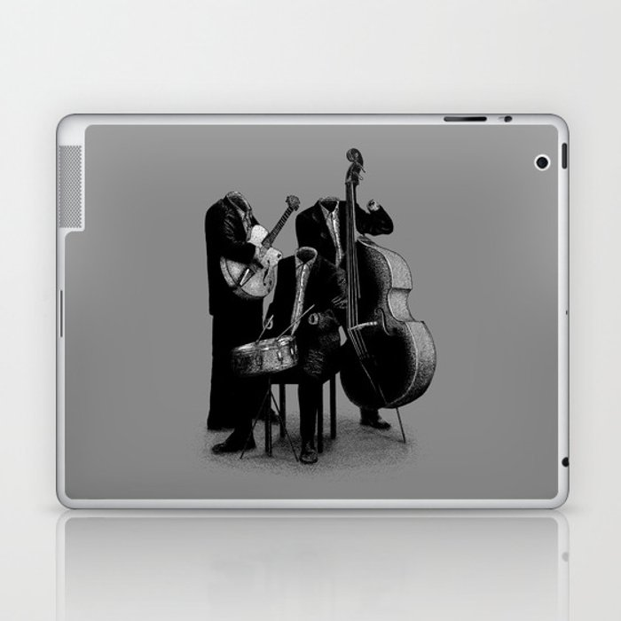 The Invisibles (On Grey) Laptop & iPad Skin