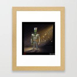 FrankenBoy... Original... Framed Art Print