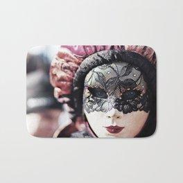 Italy Venice Mask 4 woman Bath Mat