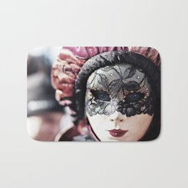 Italy Venice Mask 4 woman Bath Mat