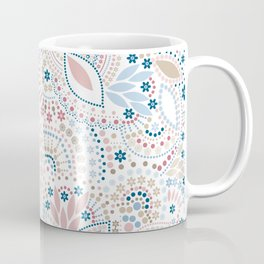 Colorful pattern of pastel light colors with beads Coffee Mug